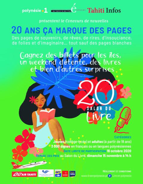 Un concours de Nouvelles pour les 20 ans du Salon du livre