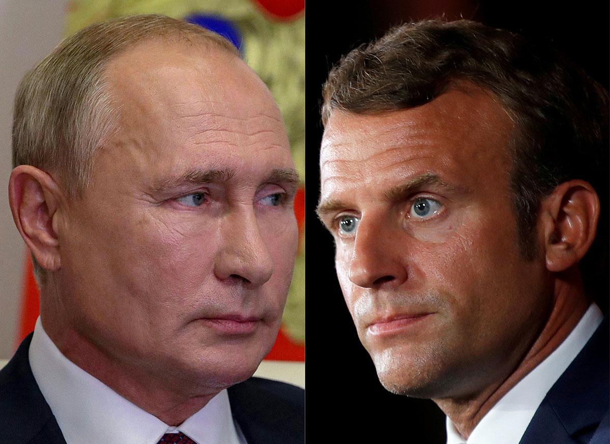 """Affaire Navalny: Macron dénonce une """"tentative d'assassinat"""", demande à Poutine une """"clarification"""""""