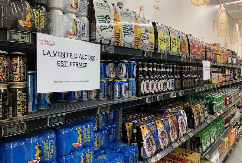 Les restrictions sur la vente d'alcool attaquées