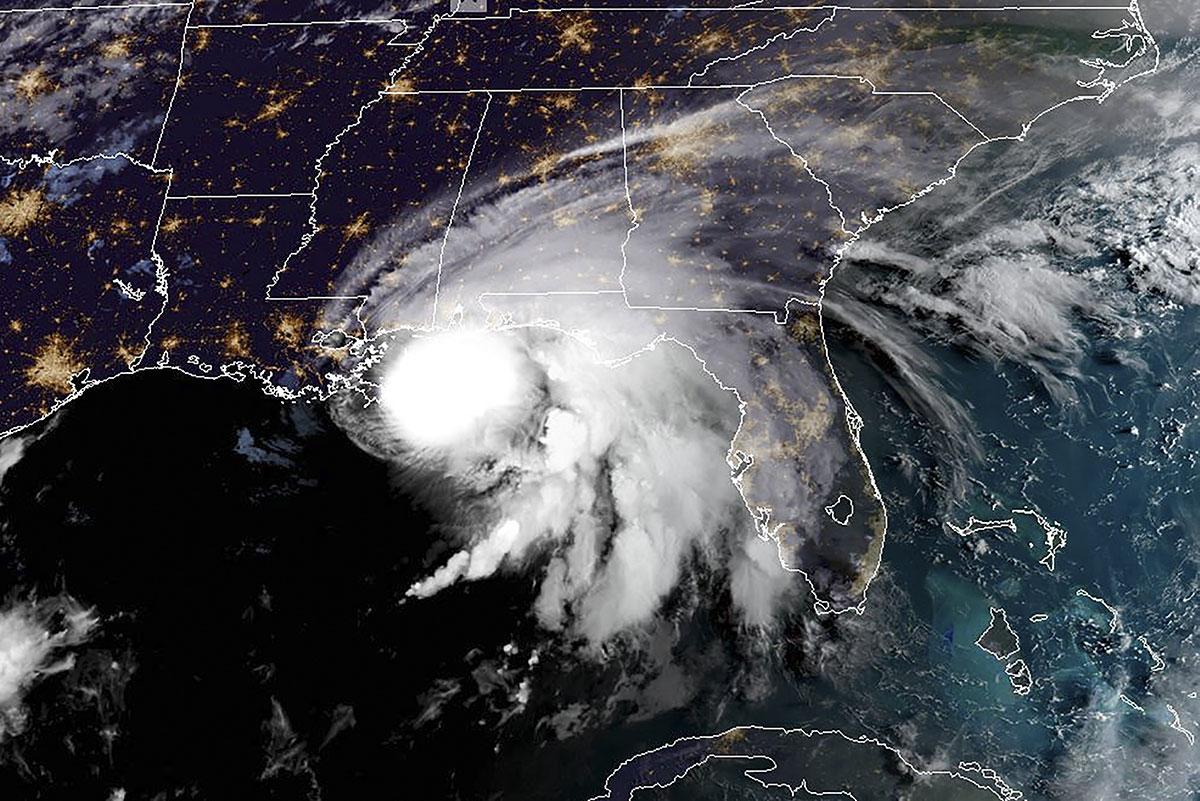 L'ouragan Sally menace les Etats-Unis de crues mortelles