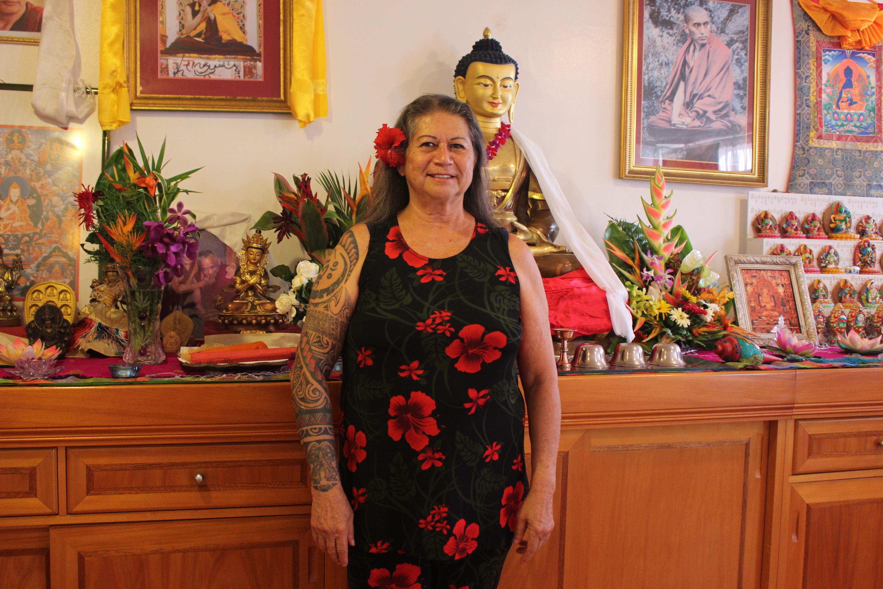Annie Green ouvre les portes du centre de méditation Naropa