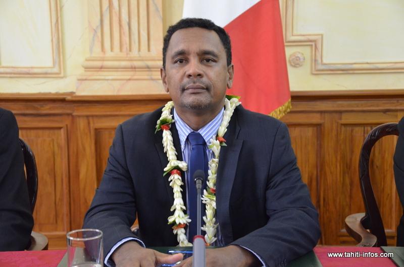 Tearii Alpha, nouveau vice-président du gouvernement Fritch