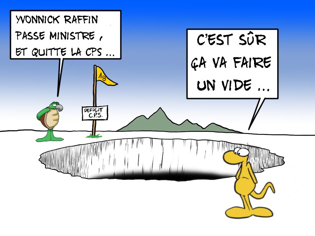"""""""La CPS sans Raffin"""", par Munoz"""