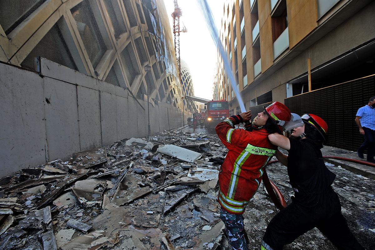 Liban: plus de 85.000 locaux endommagés par l'explosion au port