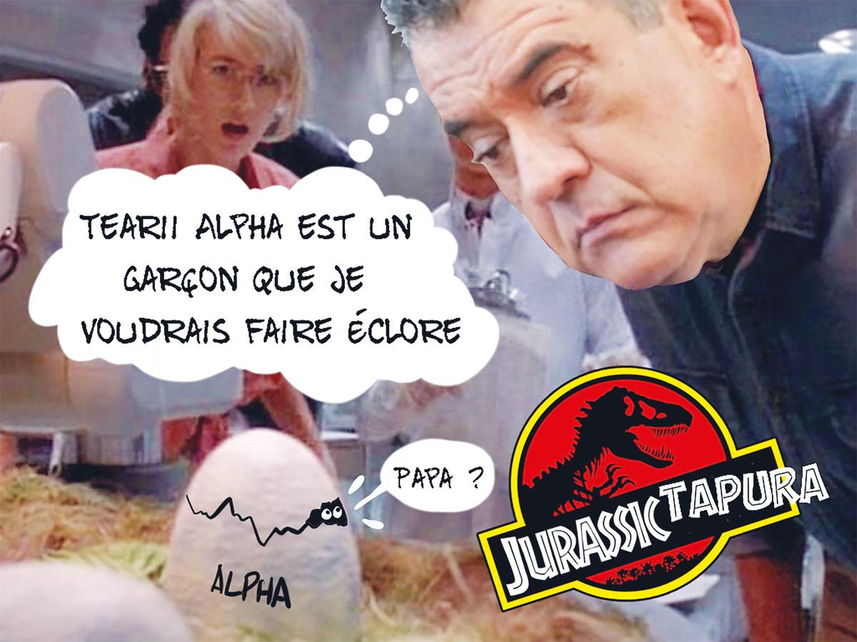 """Jurassic Tapura"", par Munoz"