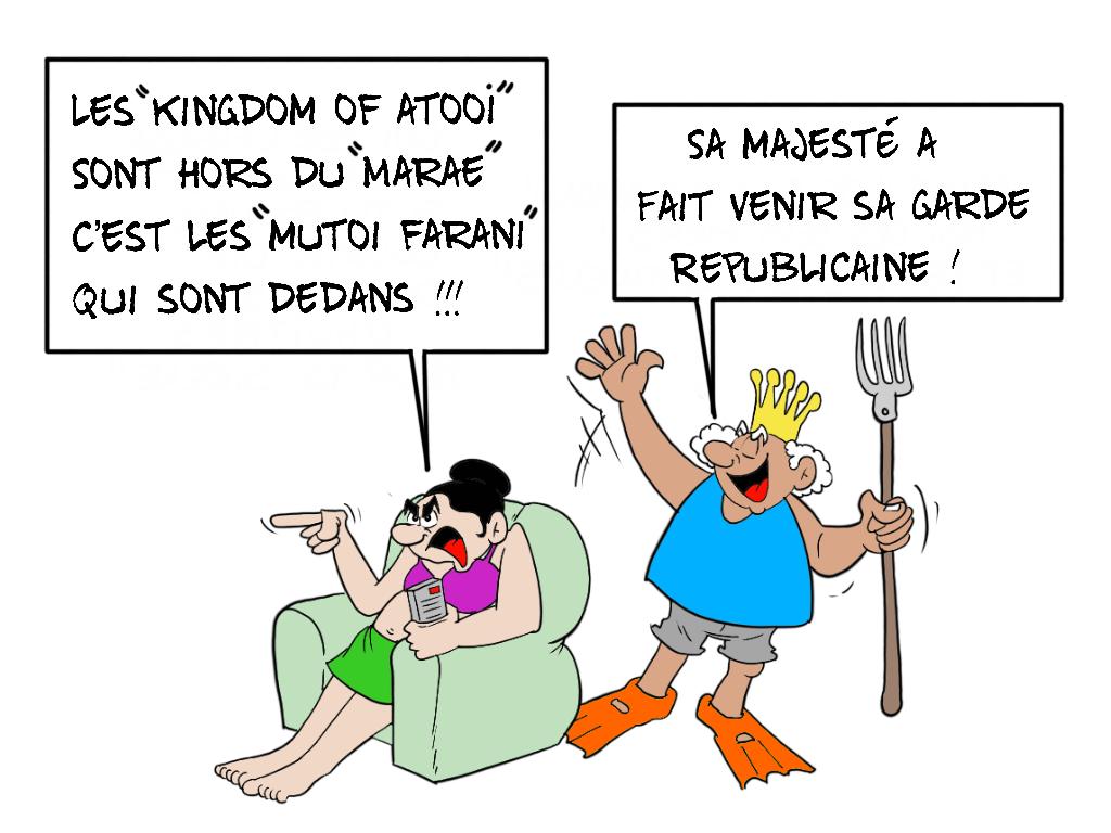 """""""La garde républicaine"""", par Munoz"""