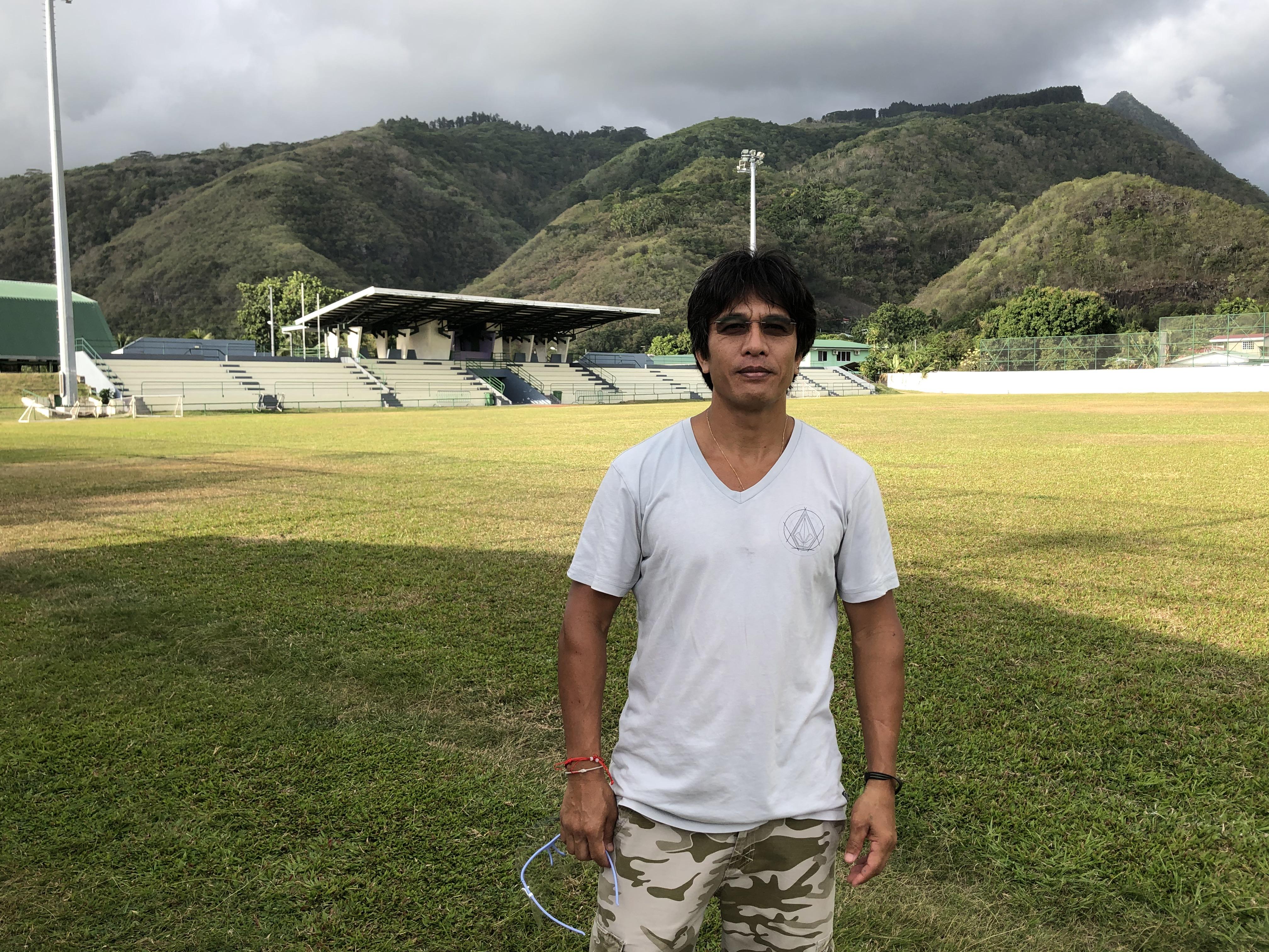 Tetahio Auraa, 47 ans, ancien joueur de l'AS Manu Ura a été catapulté à la présidence du club fin août.