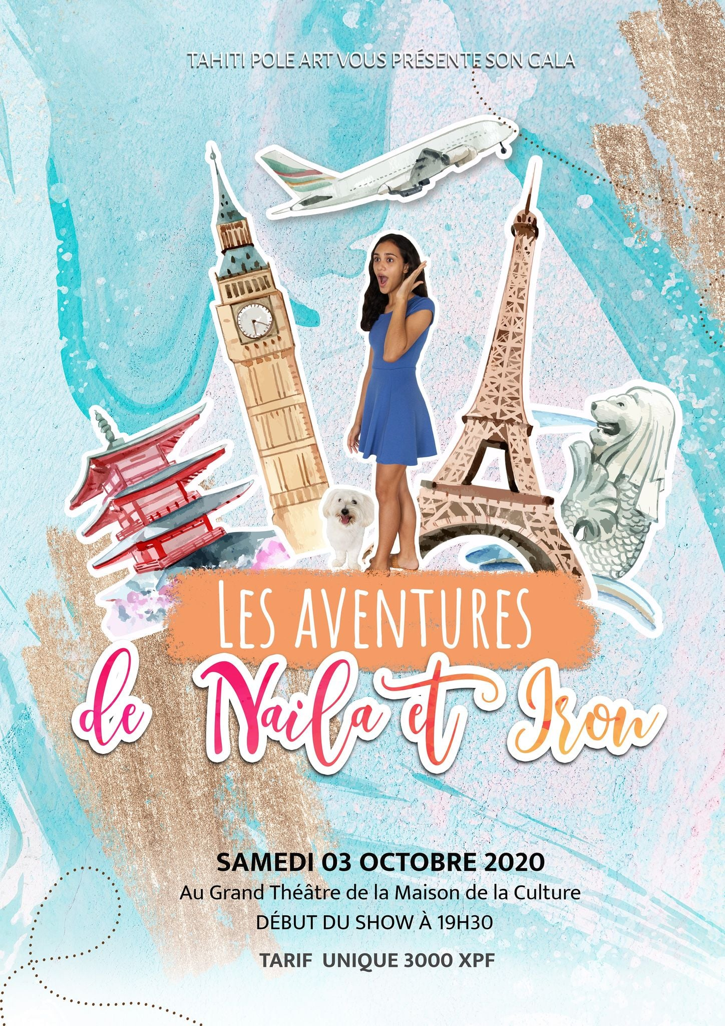 Tahiti pole art fait son show au Grand théâtre samedi