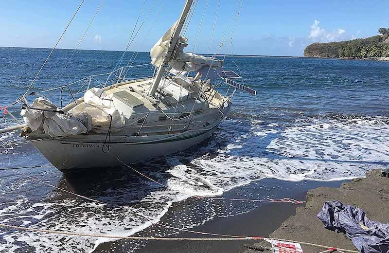 Le voilier de Lafayette bientôt déséchoué