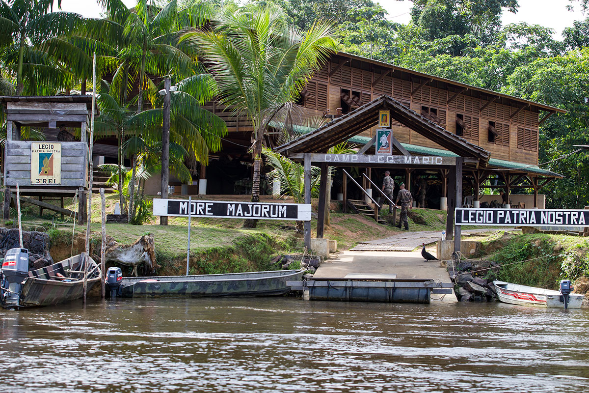 Guyane: une commune à la frontière avec le Brésil reconfinée
