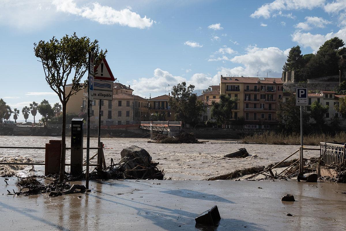 Intempéries en Italie: Piémont et Ligurie demandent l'état d'urgence