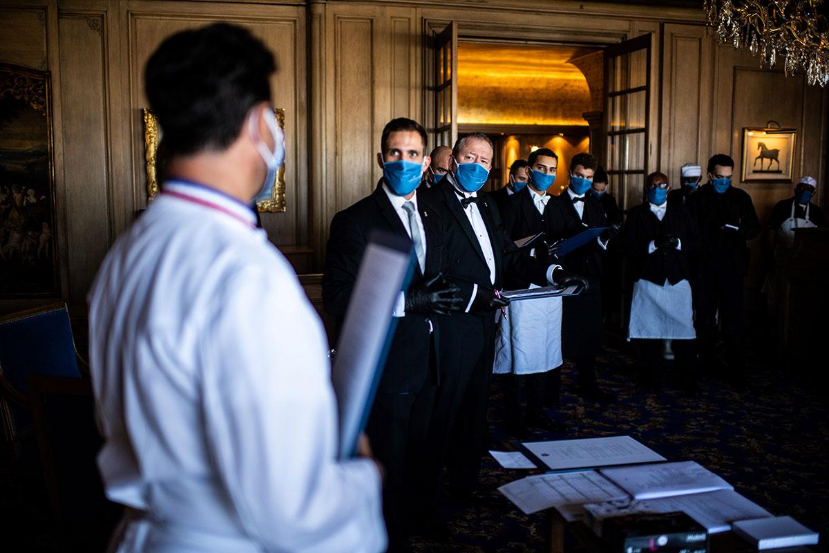 Le protocole sanitaire renforcé permettant aux restaurants de rester ouverts à Paris et petite couronne