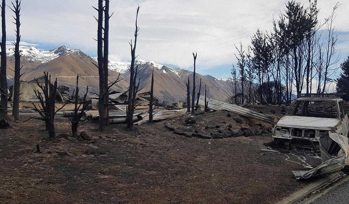 Nouvelle-Zélande: un village dévasté par un feu de forêt
