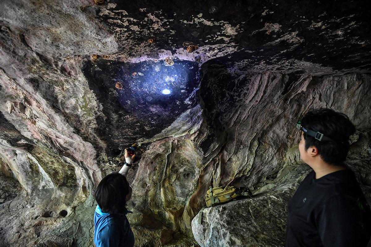 Thaïlande: des peintures millénaires mises au jour au coeur de la jungle