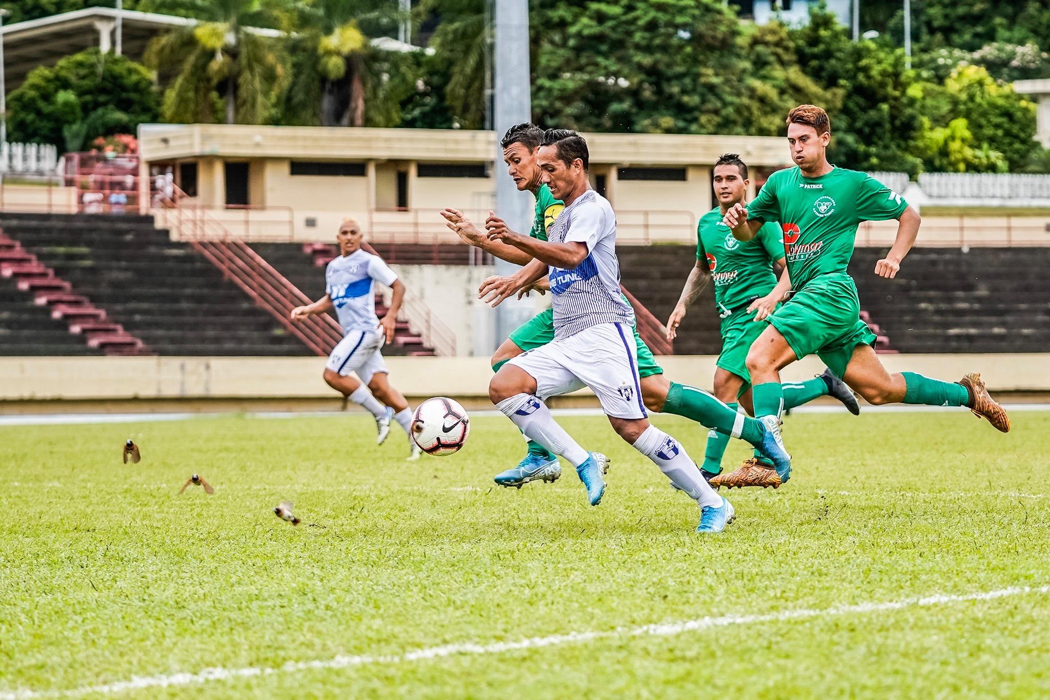 L'AS Tiare Tahiti et l'AS Vénus, qui seront privés de certaines de leurs cadres cette saison, tenteront une nouvelle fois de se mêler à la lutte pour le titre. (photo : FTF)