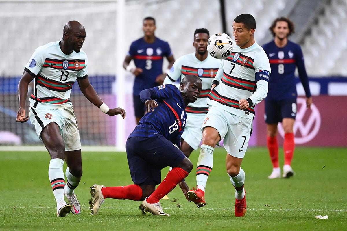 Ligue des nations: la France et le Portugal se neutralisent, l'Angleterre double la Belgique
