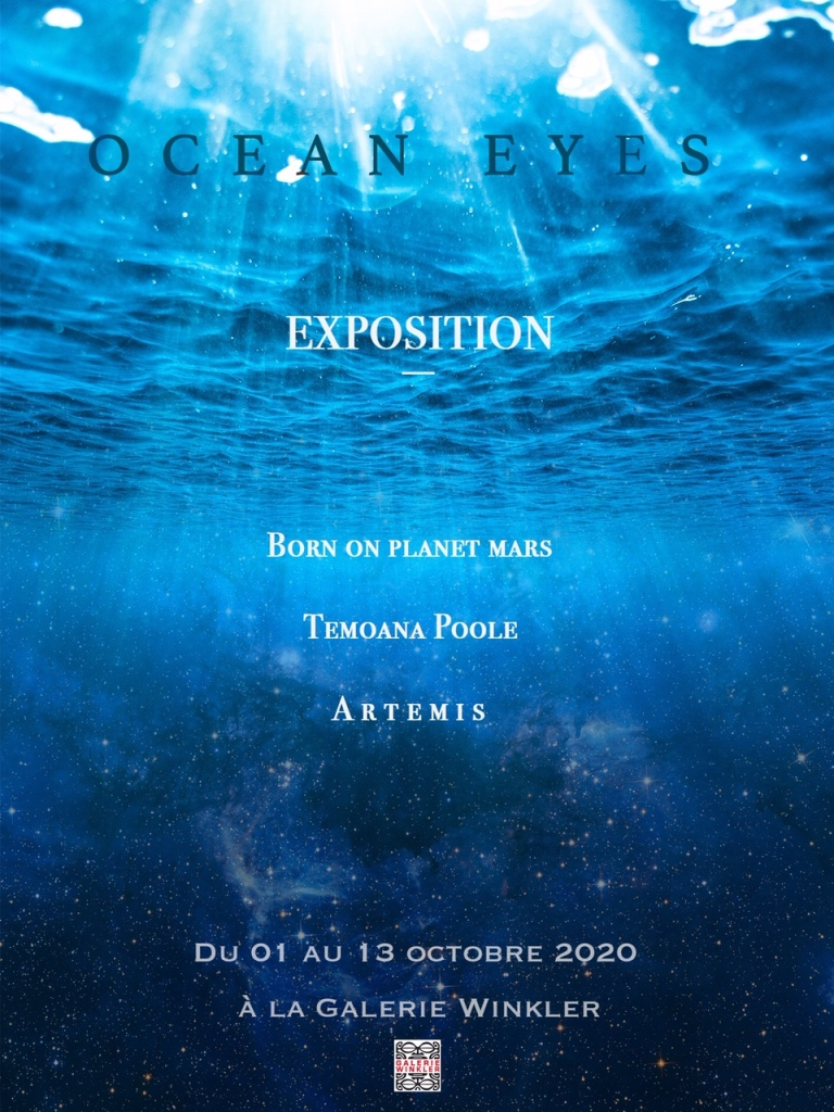 Ocean eyes : Dernier jour d'exposition à la galerie Winkler