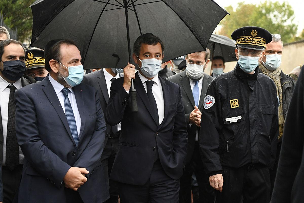 """Avant Macron, Darmanin réunit les syndicats policiers sur fond de """"ras-le-bol"""""""