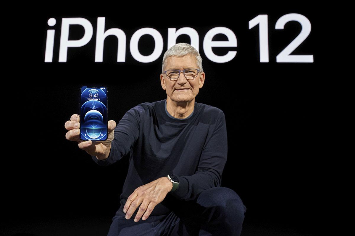 Les iPhone d'Apple ont enfin la 5G