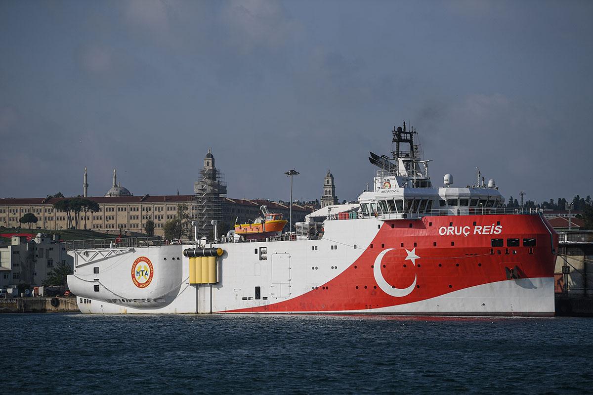 """Les alliés de la Turquie exhortent Ankara à cesser ses """"provocations"""" en Méditerranée"""