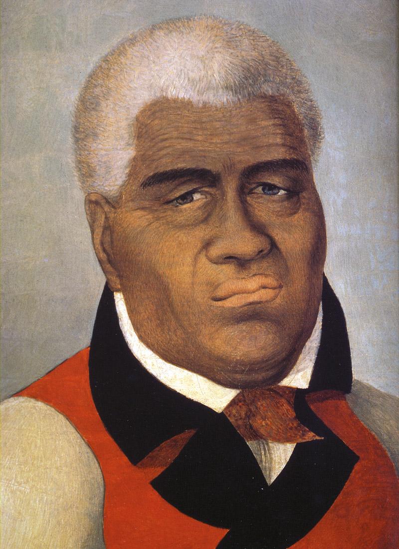 Kamehameha 1er eut bien du mal à comprendre pourquoi les Britanniques, si empressés lors des passages de George Vancouver, demeurèrent par la suite indifférents à ce qui leur appartenait de droit, à savoir la grande île de Hawaii...