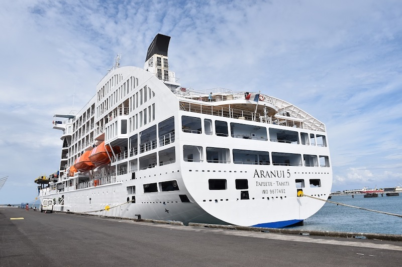 Nouveau cas Covid à bord du Aranui 5