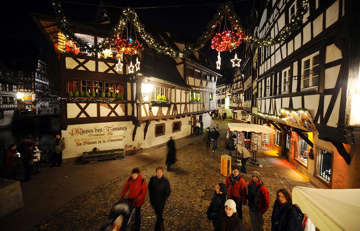 Le marché de Noël de Strasbourg victime collatérale du Covid-19