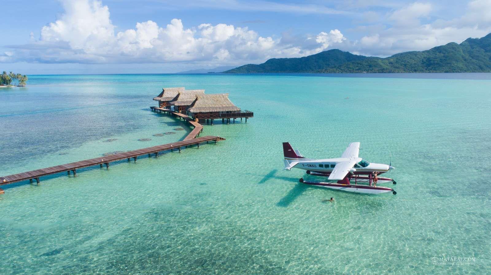 Depuis Raiatea, les ambitions de Tahiti Air Charter
