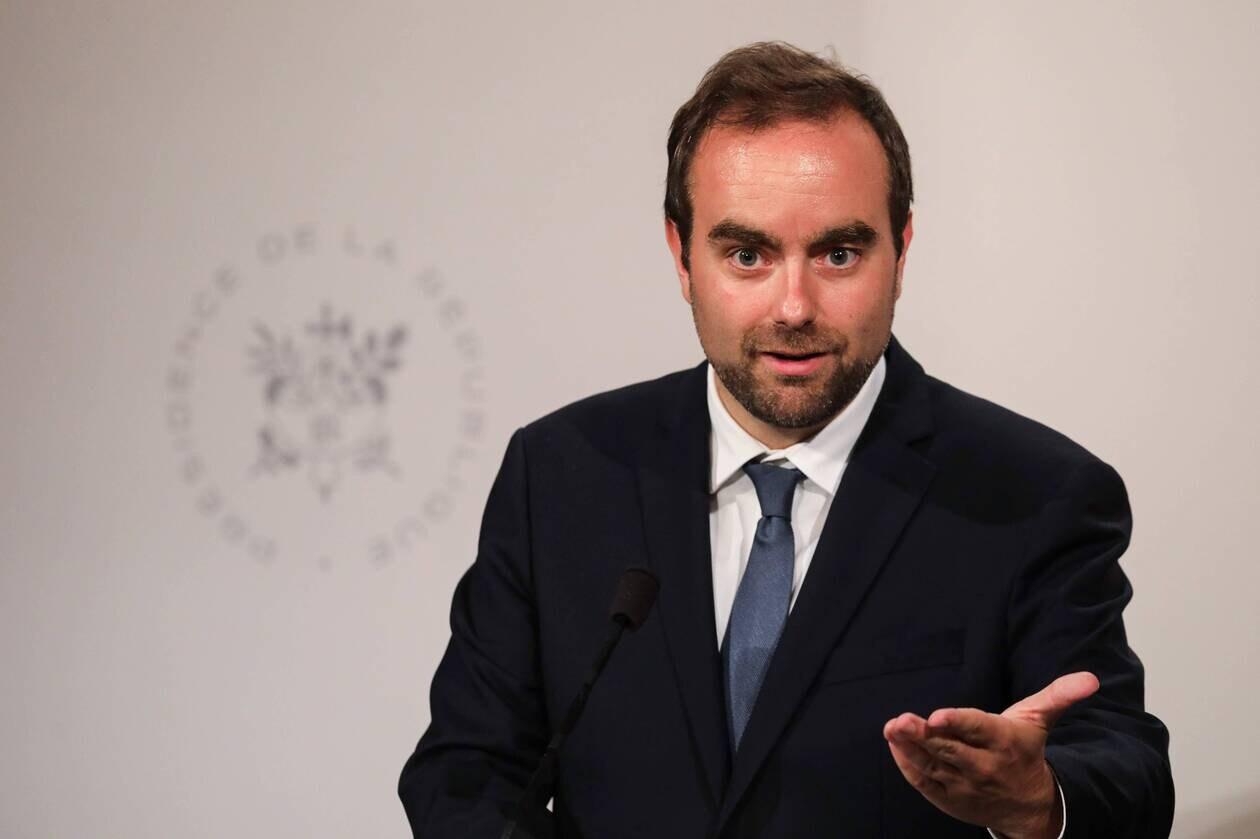 Le ministre des Outre-mer Sébastien Lecornu (Photo : Ludovic Marin - AFP).
