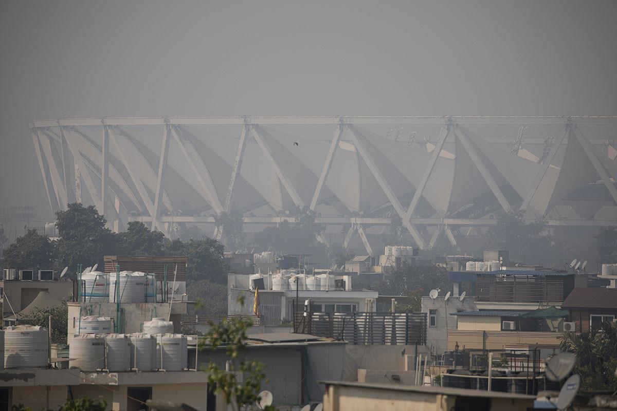 New Delhi s'étouffe sous un épais brouillard de pollution