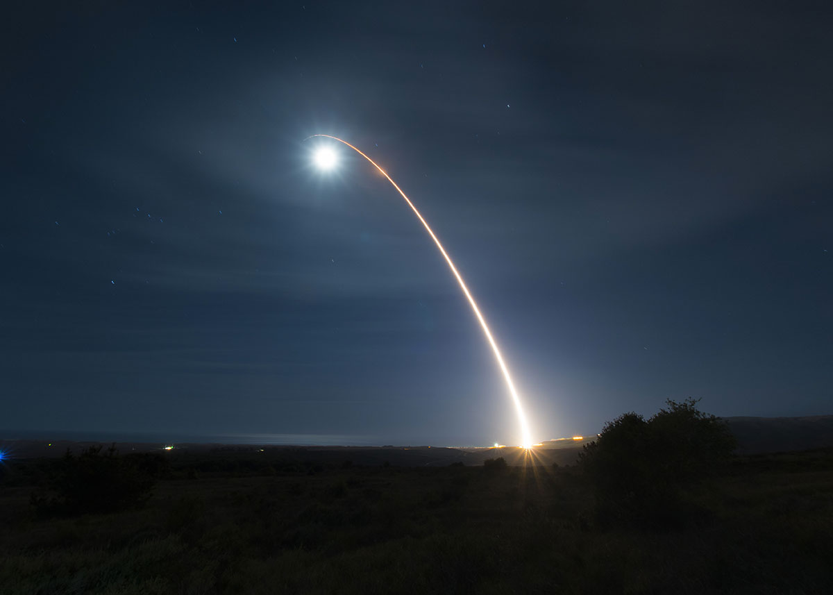 Le Pentagone teste avec succès un missile intercontinental au-dessus du Pacifique