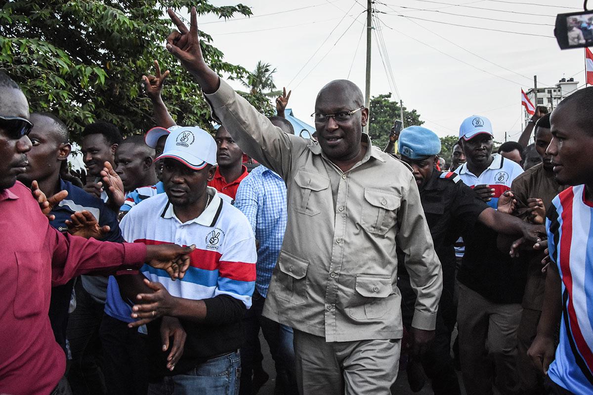 Tanzanie: le chef du principal parti d'opposition arrêté