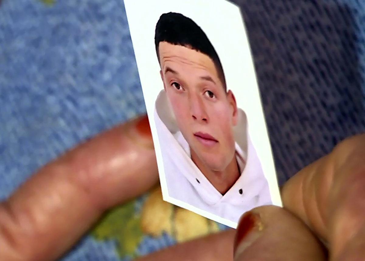 Capture d'image de l'AFP TV montrant une photo de l'assaillant Brahim Issaoui.