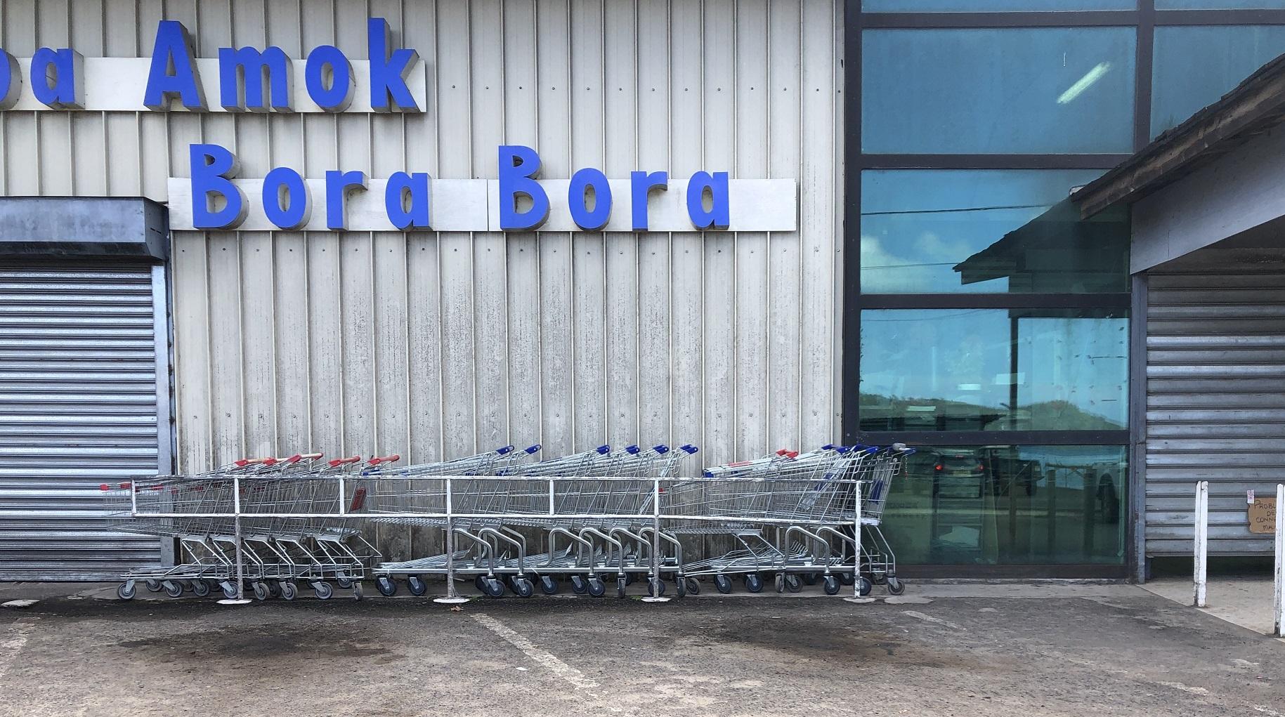 Mardi, deux magasins de Vaitape dont le supermarché To'a Amok ont dû être fermés sur recommandation du bureau de veille sanitaire.