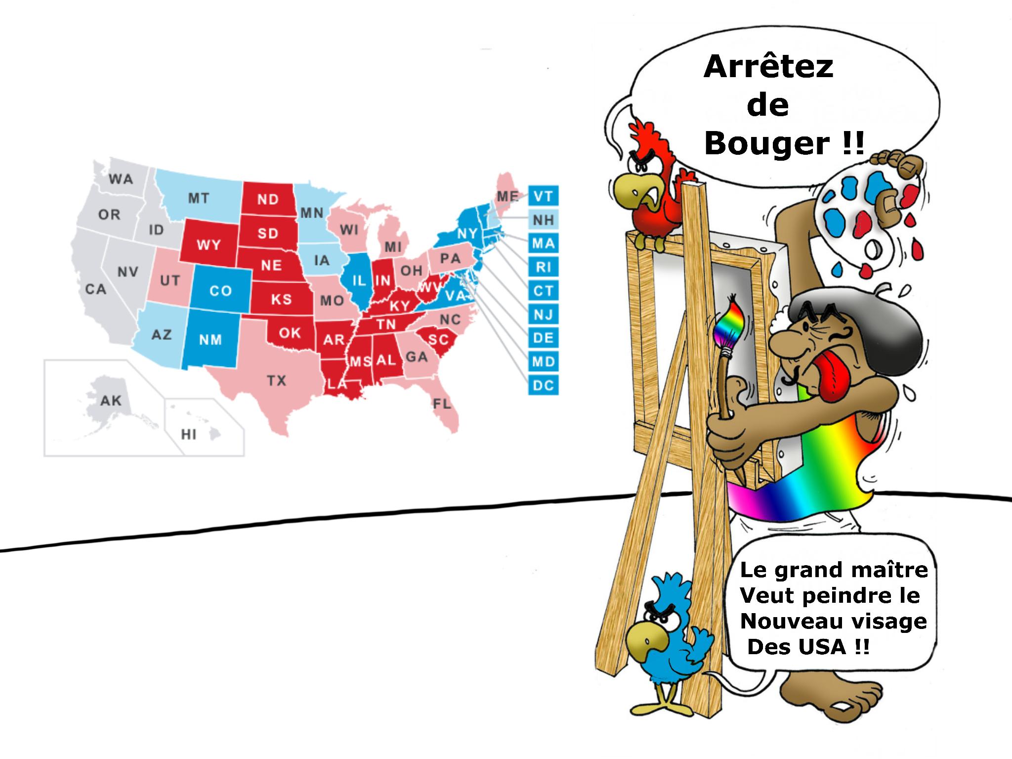 """""""Couleur USA"""", par Munoz"""