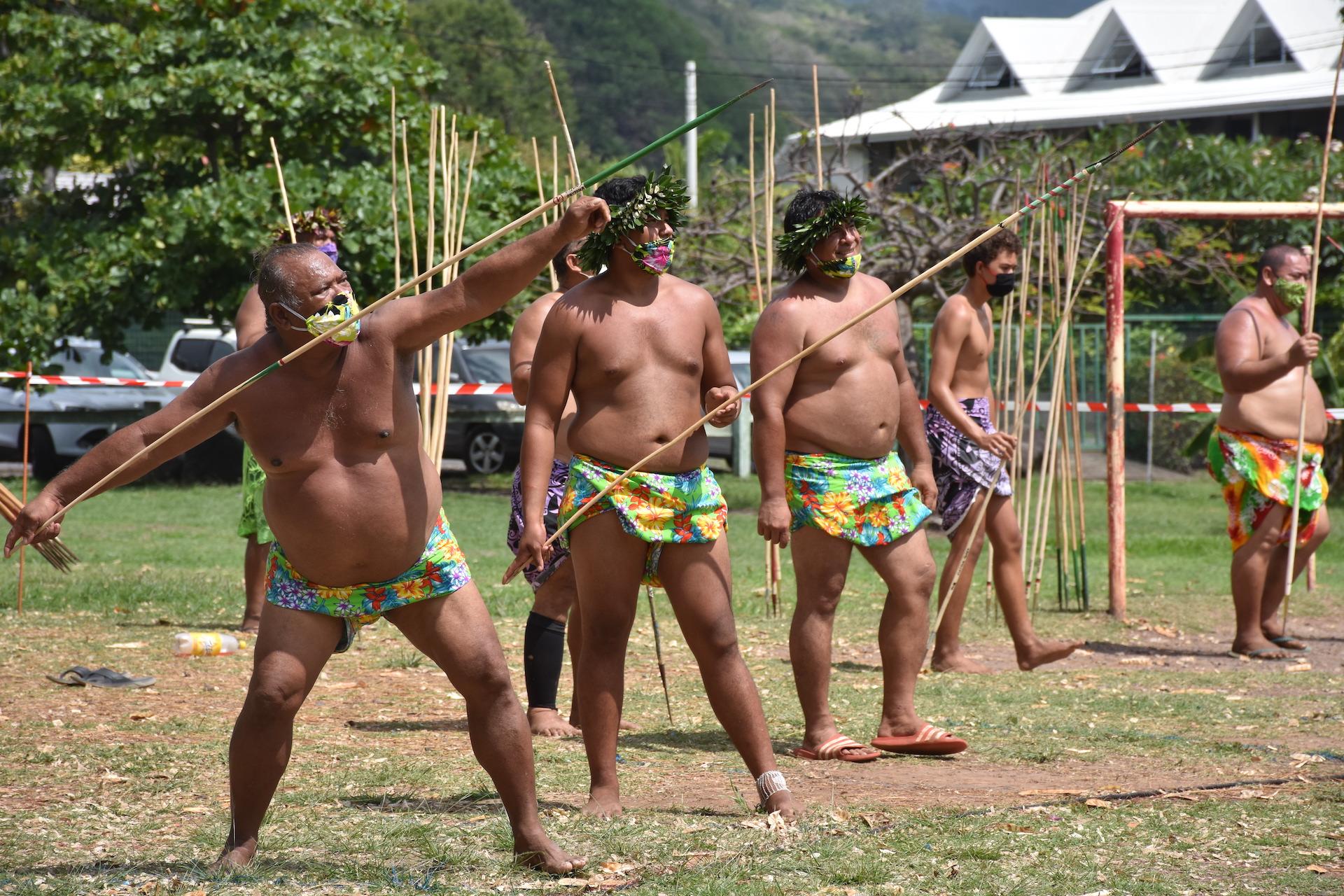 Les tū'aro mā'ohi à l'épreuve du Covid