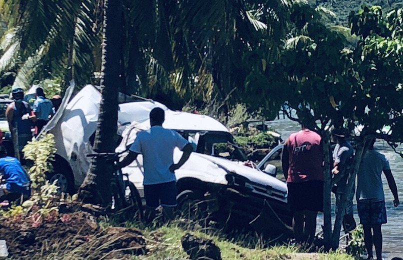 Deux morts et trois blessés dans un drame de la route à Bora Bora