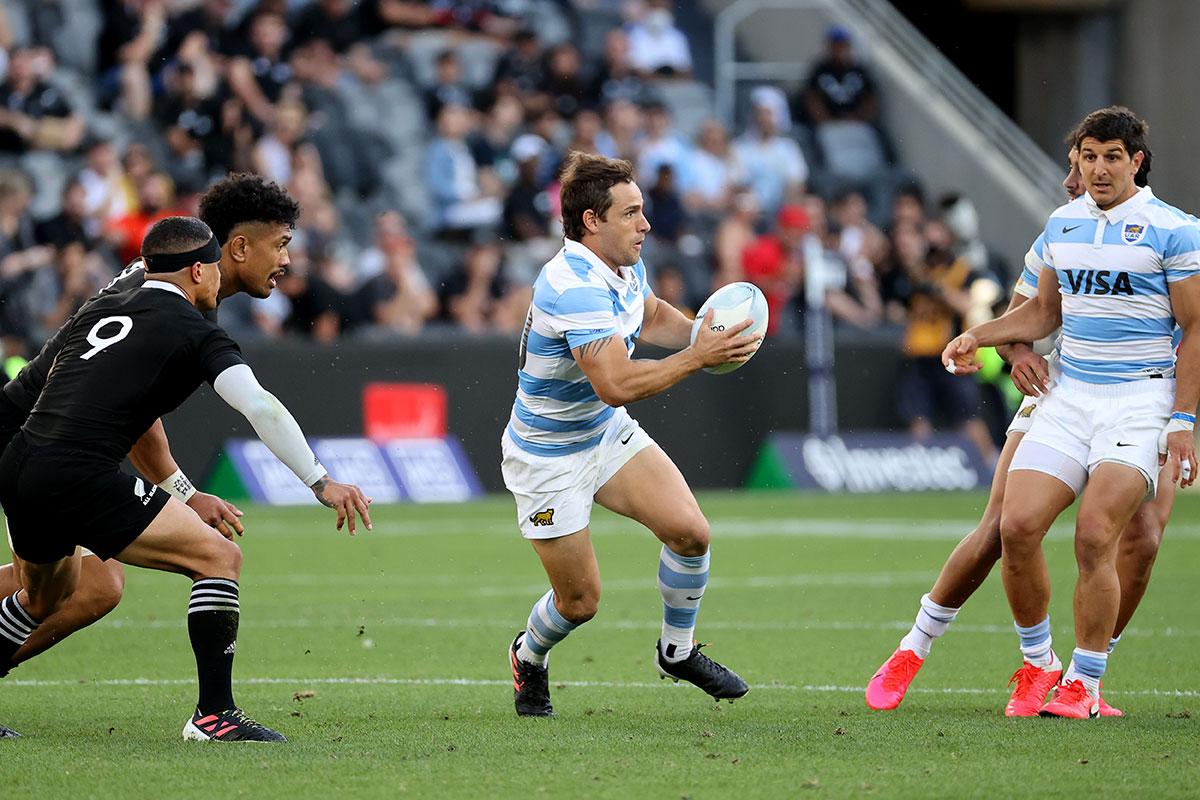 Rugby Championship: les Pumas domptent les All Blacks pour la première fois de leur histoire