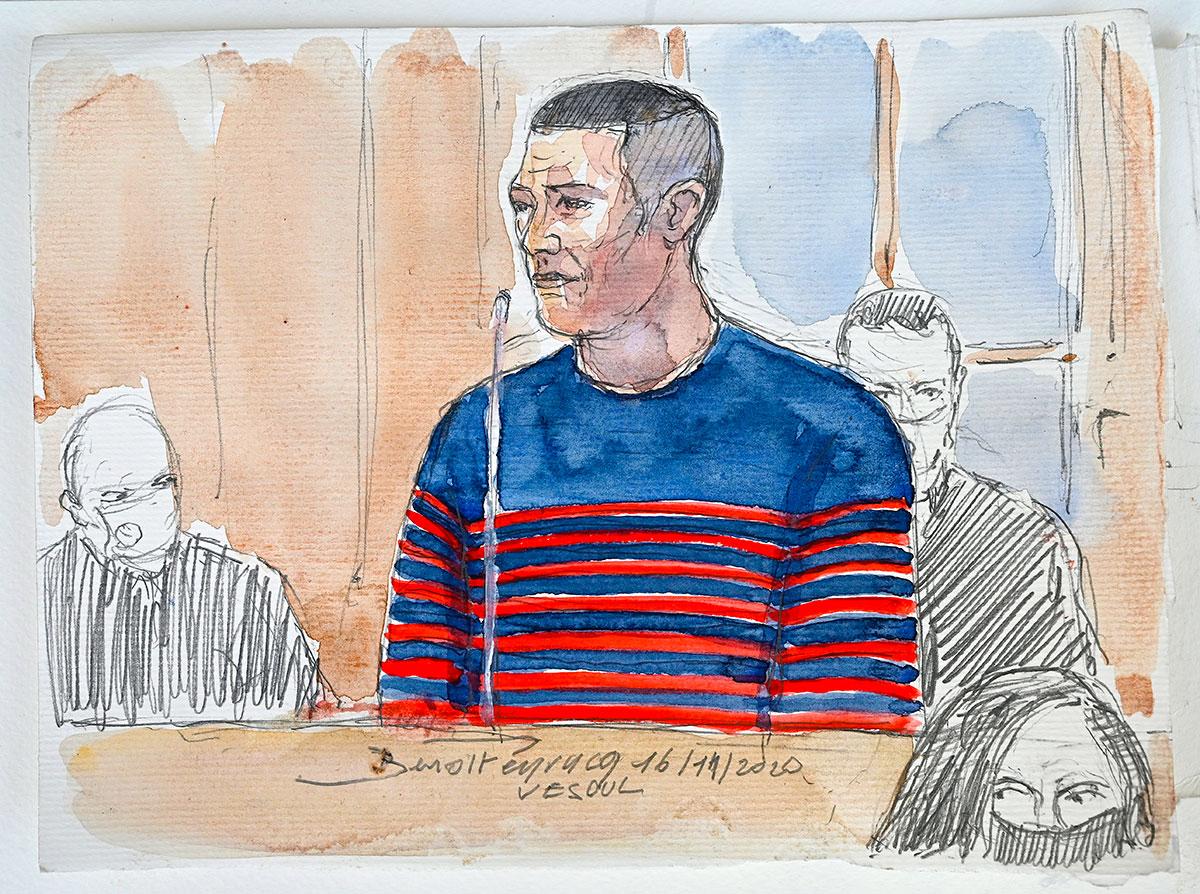 A l'ouverture de son procès, Jonathann Daval réaffirme avoir tué seul sa femme Alexia