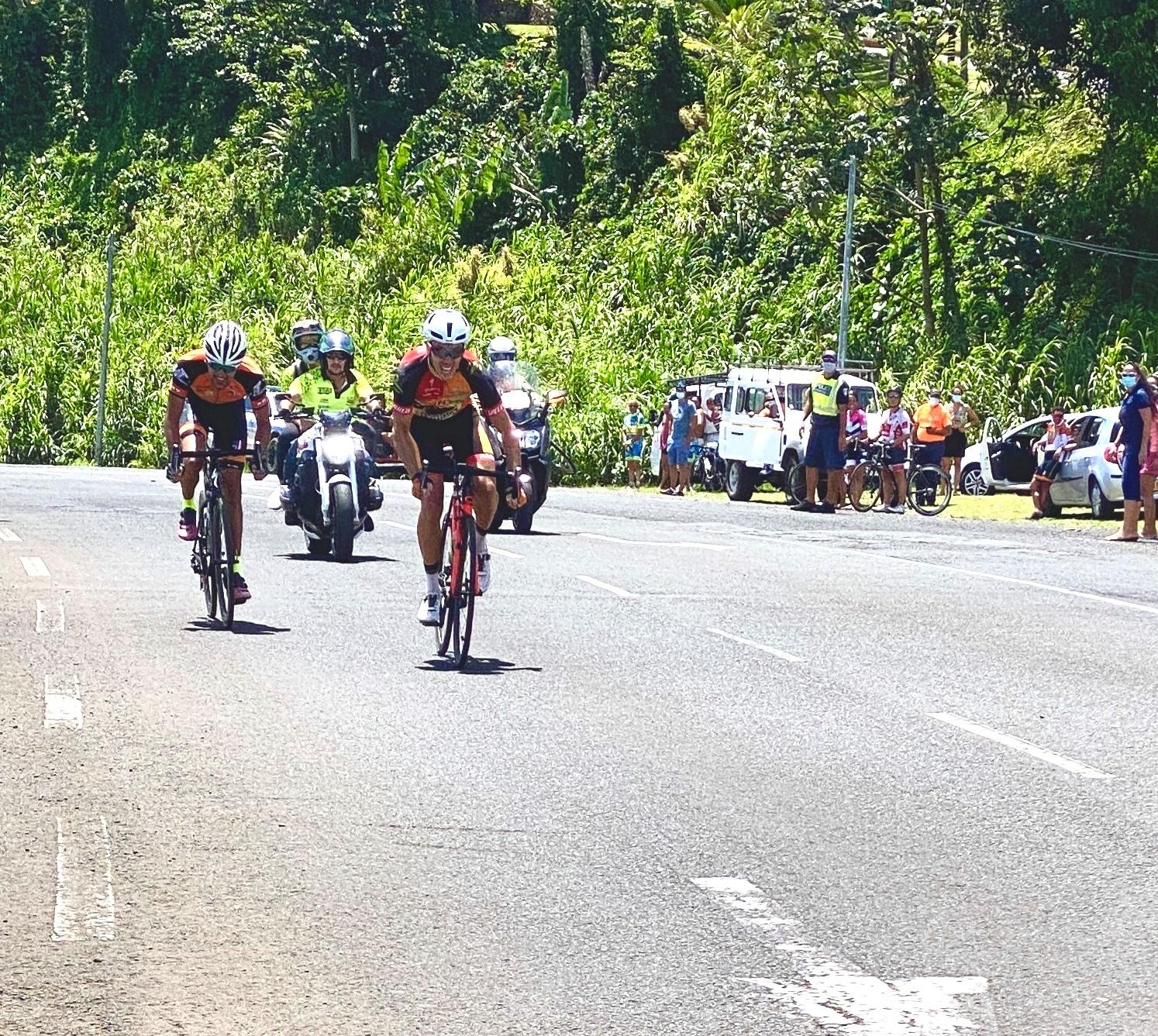 Après plus deux heures vingt de course, Eddy Le Roux a été le plus costaud au sprint.