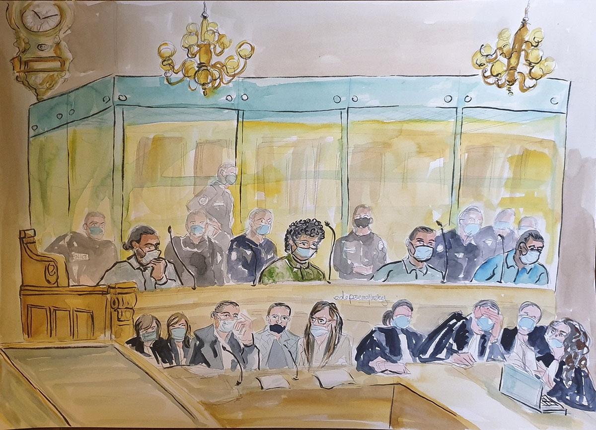 """Attentat raté du Thalys en 2015: le tireur reconnaît """"l'ensemble des faits""""... avant de se rétracter"""