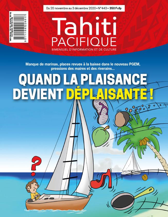À la UNE de Tahiti Pacifique vendredi 20 novembre 2020