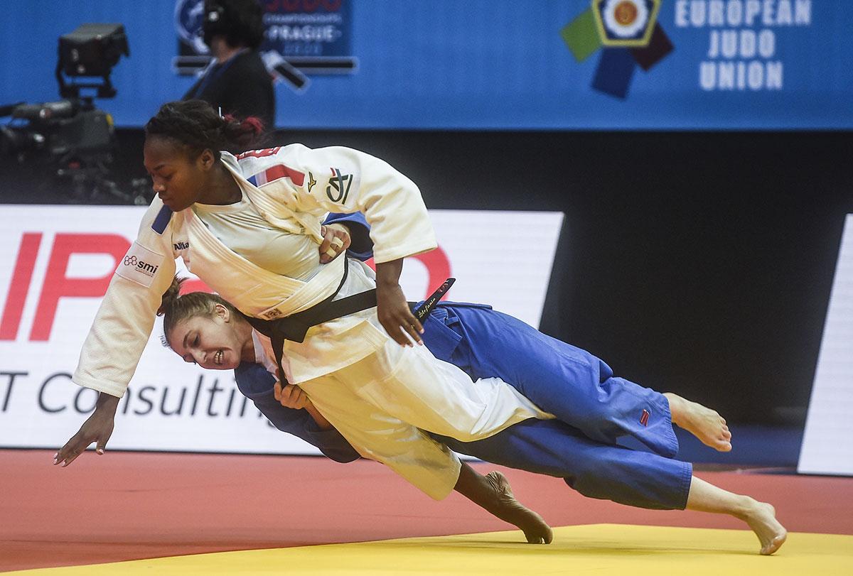 Judo: Agbegnenou (-63 kg) championne d'Europe pour la 5e fois