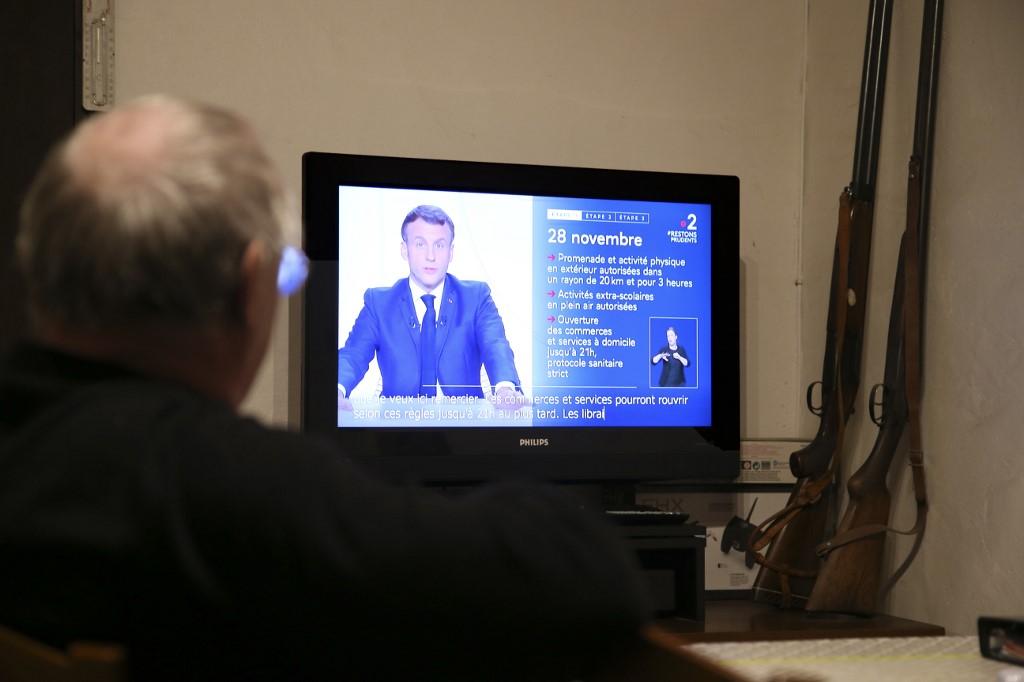 Les principaux points de l'intervention de Macron