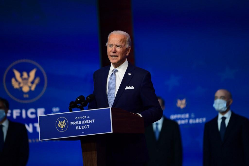 Joe Biden présente les premiers membres de son gouvernement