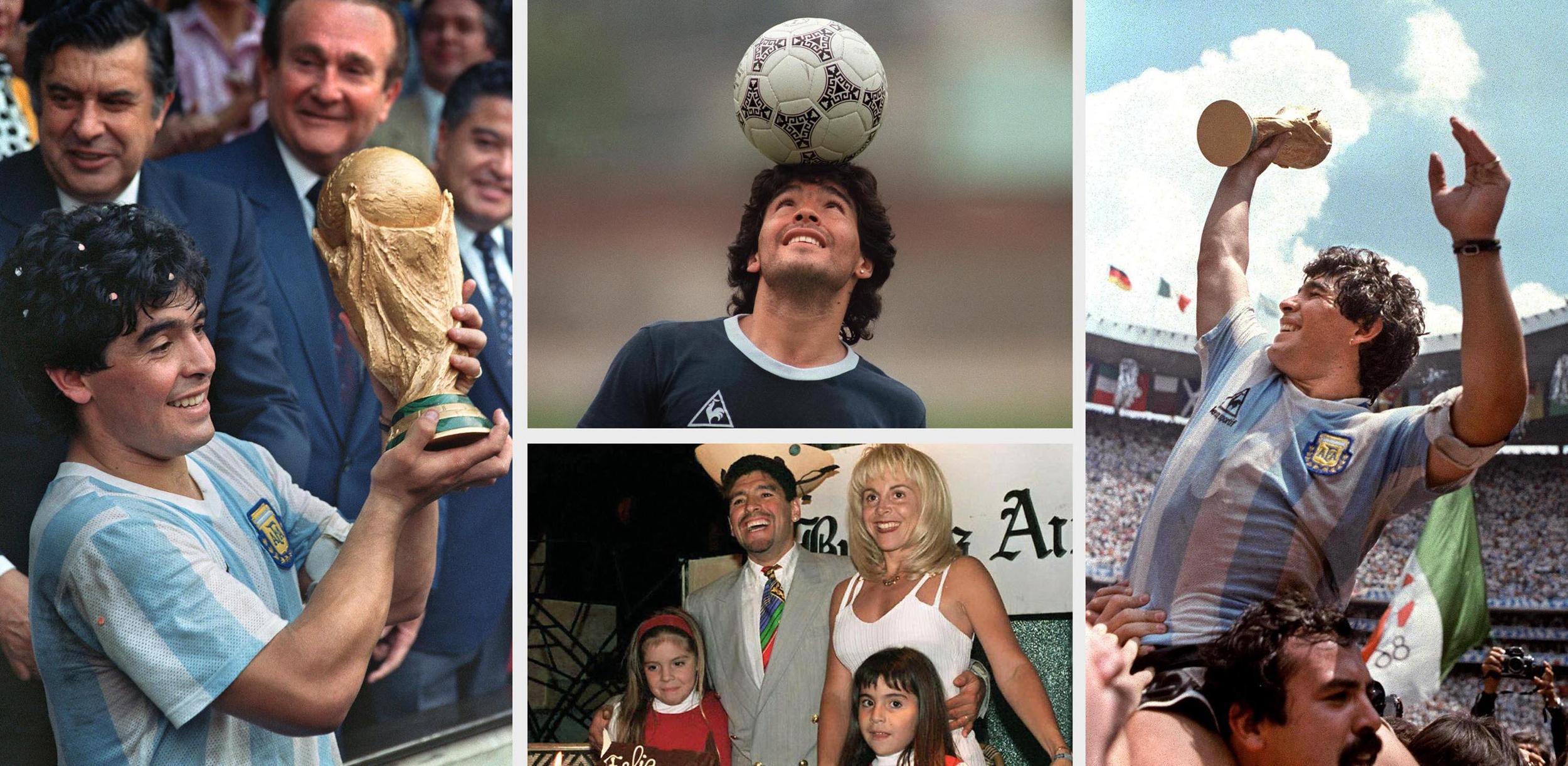 """L'Argentine et le foot perdent leur """"Dieu"""" Maradona, mort à 60 ans"""