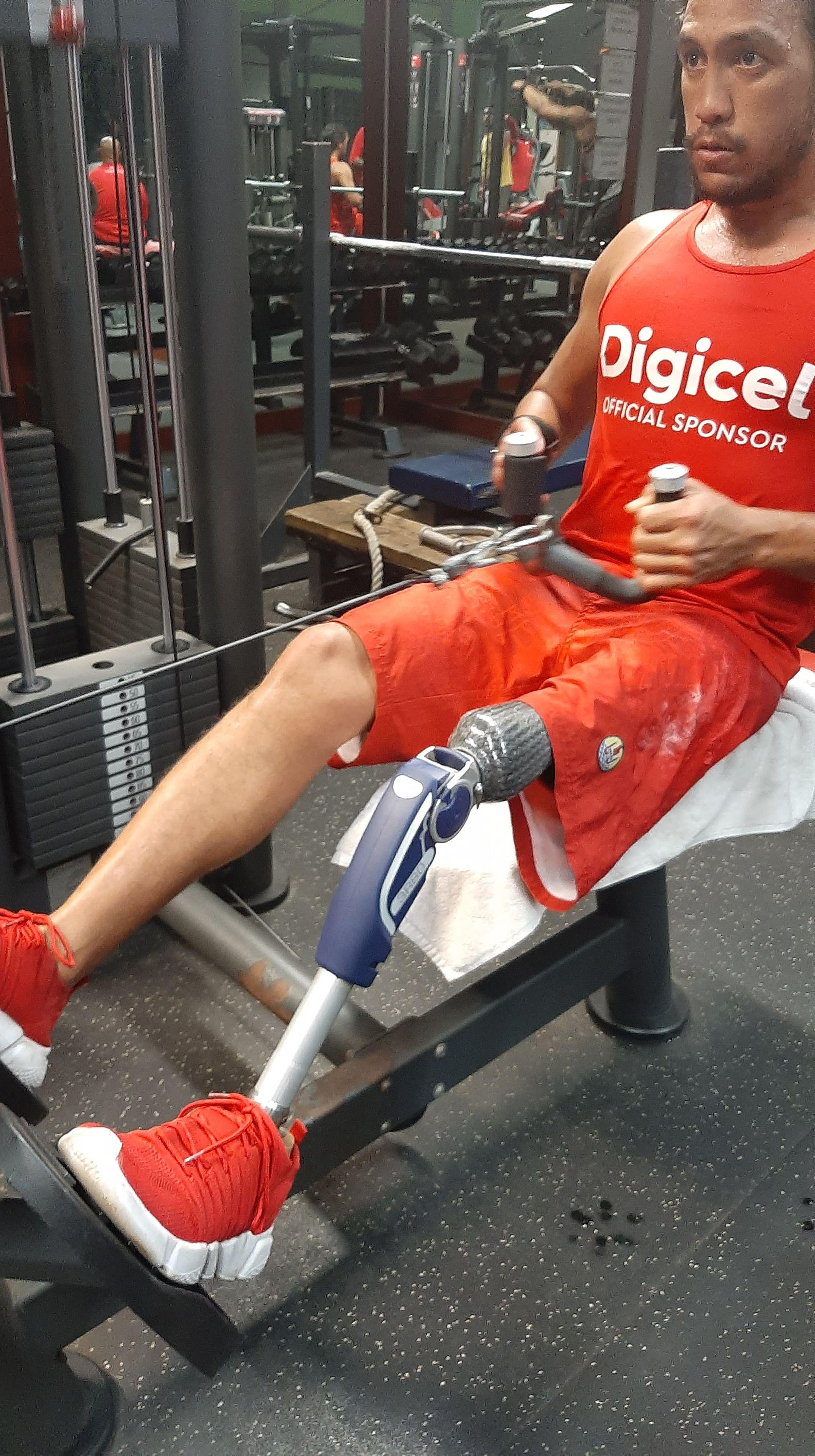 Allgower Maruae et son rêve paralympique
