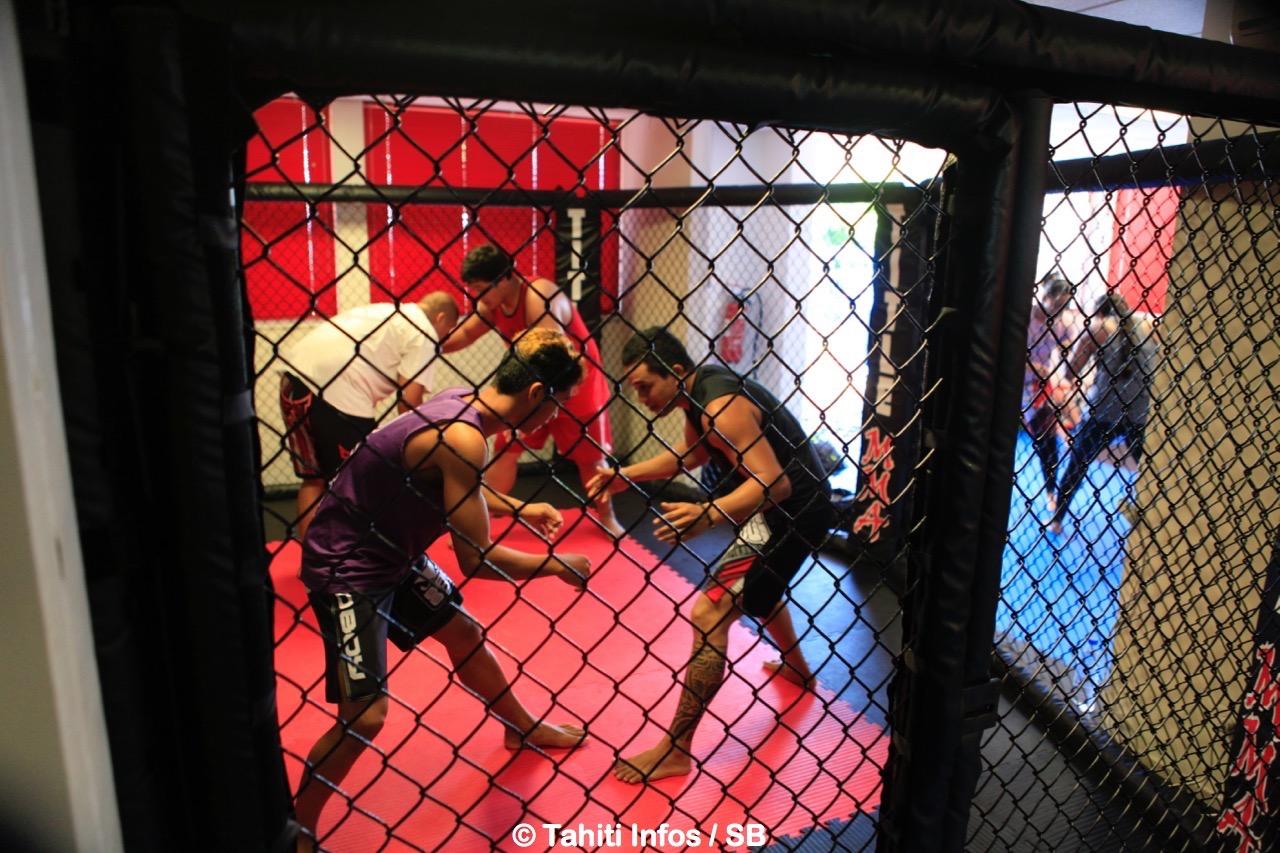 La pratique du MMA en Polynésie française a été légalisée en début d'année. Les premiers combats amateurs au fenua devraient se tenir l'année prochaine. (photo d'archive)