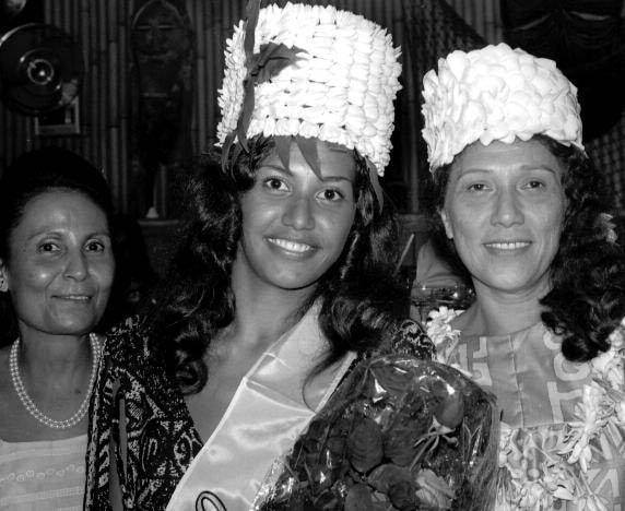 Maire Tehei épouse Martin, Miss Tahiti 1970, est décédée lundi à l'âge de 69 ans.