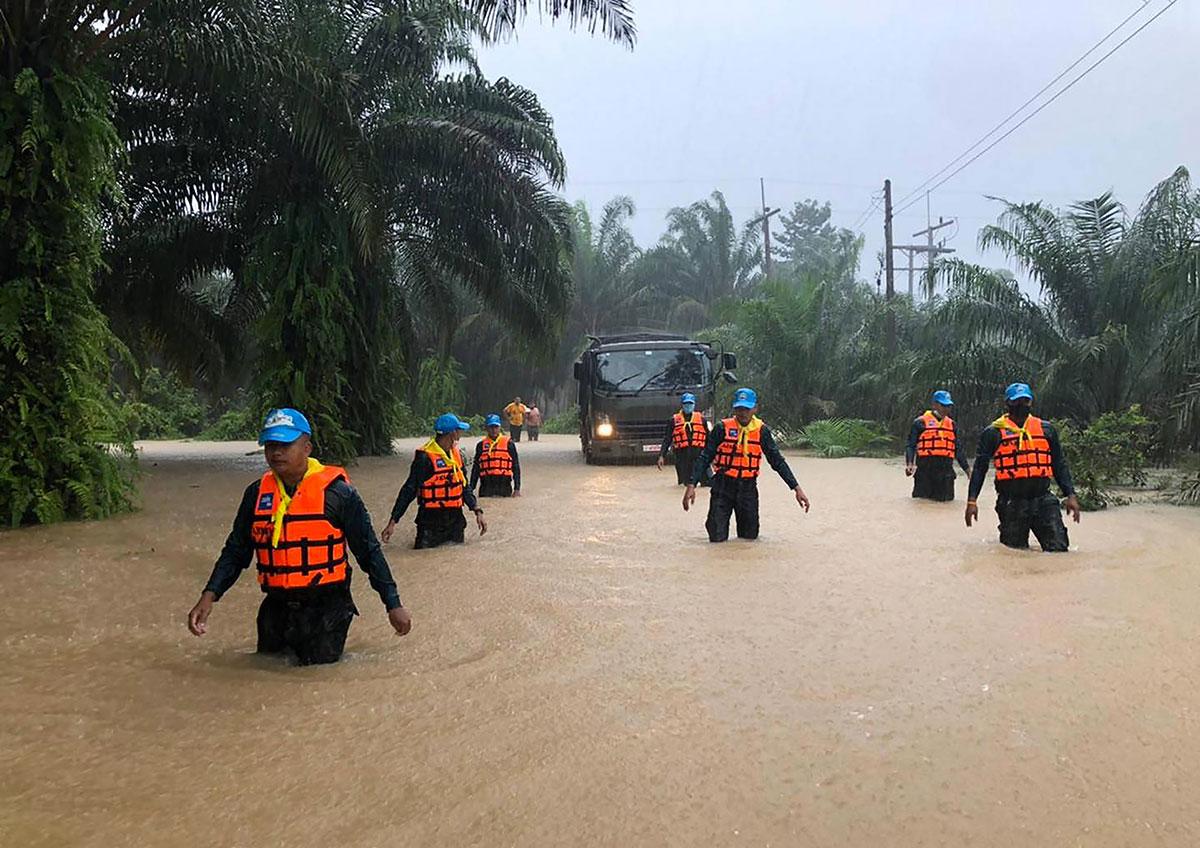 Crues subites dans le sud de la Thaïlande: au moins neuf morts
